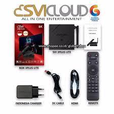 SVICLOUD 3PLUS INDONESIA 8K -TV BOX 2GB/16GB 9CORE ANDROID 10