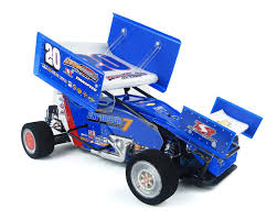 custom works enforcer 7 gearbox 1 10th electric sprint car dirt oval kit csw0975 cars trucks amain hobbies
