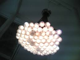 85 lamps chandelier by rody graumans of droog design