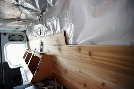 paneling our walls and ceiling in our