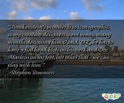 Memorable Frankenstein Quotes. QuotesGram via Relatably.com