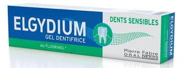 Elgydium Sensitive Gelová Zubní Pasta S Fluorinolem 75ml Kosmetika
