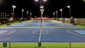 Get a bounce and cushion similar to hardwood in the comfort of your own backyard! Open Rec Basketball Racquet Sports Denver Recreation