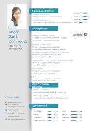 english cv aacute ngela contilde sworn translator to spanish cv aacutengela english version