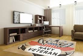 united states navy veteran rug
