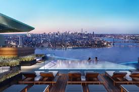 Brooklyn Point Will Have The Highest Residential Infinity Pool in