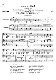 Ammenlied D 122 Schubert Franz Imslp Petrucci Music Library