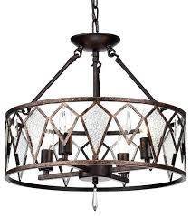 flushmount chandelier