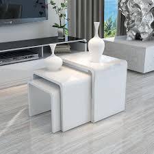 modern contemporary coffee tables coffee layer design high gloss 1 jpg s pi impressive white living