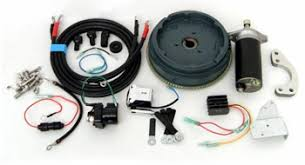 tohatsu outboard parts electrical kits converts a manual start engine to an electric start