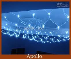 led net lights 1 5m 1 5m curtain light string meshwork wedding 144 leds xmas string lamp party holiday fairy string lighting string lights outdoor