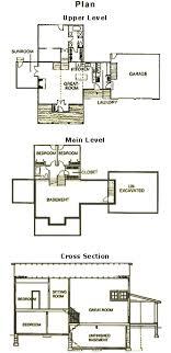 little red house floor plan