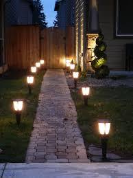 unique outdoor lighting ideas. 3. Solar Glowing Lanterns By The Path Unique Outdoor Lighting Ideas D