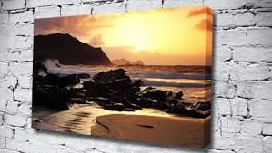 love on the rocks seascape canvas from only 14 99 at canvas art print http  on rock wall art uk with love on the rocks seascape canvas from only 14 99 at canvas art