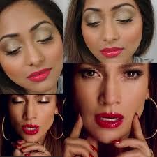 jennifer lopez same video makeup look