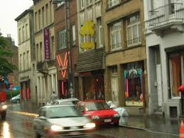 Brussels Nord Red Light Area Sex Workers In Brussels Red Light District Strike After