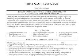 Office Clerk Resume Example Staff Sample Simple Executive