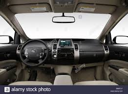 2009 Toyota Prius Hybrid in Brown - Dashboard, center console ...