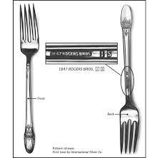 Silver Plate Pattern Chart Silver Pattern Identification Replacements Ltd