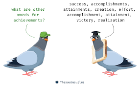 More 400 Achievements Synonyms Similar Words For Achievements