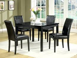 image of cute black dining table set friday deals on kitchen sets full size