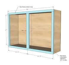 Ana White Build A 45 Wall Kitchen Cabinet Free And Easy Diy