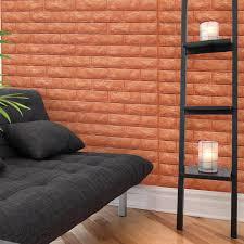 Small Picture Brick Peel Stick Wallpaper Foam Block 3d Design 10 Sheets 484 SqFt