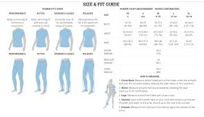 Columbia Size Guide