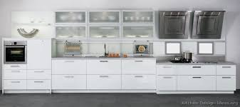 Small Picture Pictures of Kitchens Style Modern Kitchen Design Color White