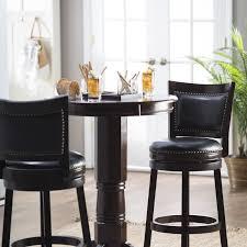 Kitchen Pub Table Sets Boraam Oak Sumatra 3 Pc Pub Table Set Bar Pub Tables At Hayneedle