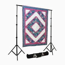 Quilt Stands For Display Enchanting Amazon Craftgard Portable Quilt Display Stand WCase 32' X 32