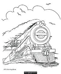 Polar Express Coloring Page Polar Express Coloring Pages Tickets