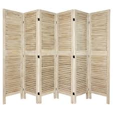 Tall room dividers Marvelous About This Item Chillibibleinfo 12 Ft Tall Classic Venetian Room Divider Burnt White 3 Panel