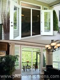 french door screen sliding for doors patio with screens retractable