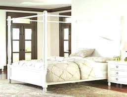 Full Size Canopy Bed For Girl Full Size Canopy Bed Image Of Canopy ...