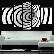 hand painted ideas modern canvas art picture future wall art 3d black and white oil painting for living room modern oil painting 3d black white with