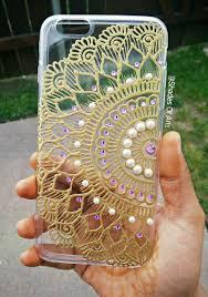 Mobile Cover Designs Handmade Handmade Henna Inspired Phone Case Henna Phone Case Bling