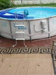 summer waves 16ft elite frame pool