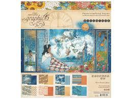 Dreamland Designs Graphic 45 Collection Dreamland Paper Pad 8 In X 8 In