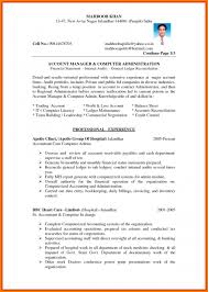 Accountant Cv Templates Senior Sample Doc Template Uk Samples Pdf