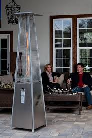 stainless steel patio heaters. Amazon.com : Fire Sense Stainless Steel Pyramid Flame Heater Portable Outdoor Heating Garden \u0026 Patio Heaters