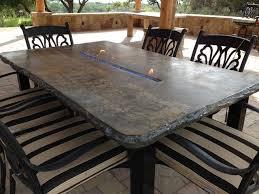 concrete patio table hfmc
