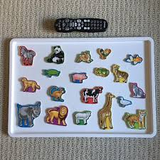 GUC - Melissa \u0026 Doug Wooden Animals Magnets Find more Guc for sale at