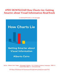 How Charts Lie Pdf Download How Charts Lie Getting Smarter About Visual
