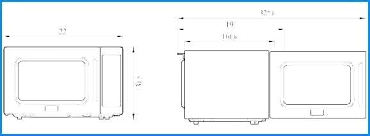 Dresser Size Chart Standard Oven Size Koope Co