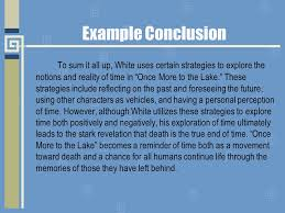 literary analysis writing the conclusion the conclusion gives  7 example conclusion