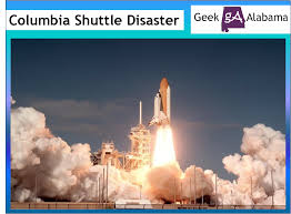 Image result for space shuttle Columbia during re-entry