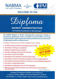 diploma in market administration nabma s45c 516011411010