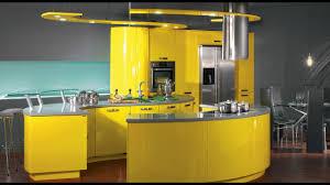 kitchen design yellow. awesome modern kitchen design ideas | glossy yellow