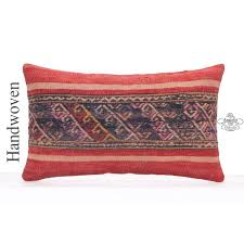 12x20 pillow cover. Wonderful Cover Vintage Embroidered Lumbar Kilim Pillow Cover 12x20 Decorative Cushion In